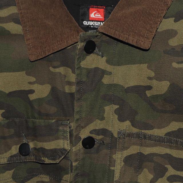 Quicksilver Camo Jacket - Medium