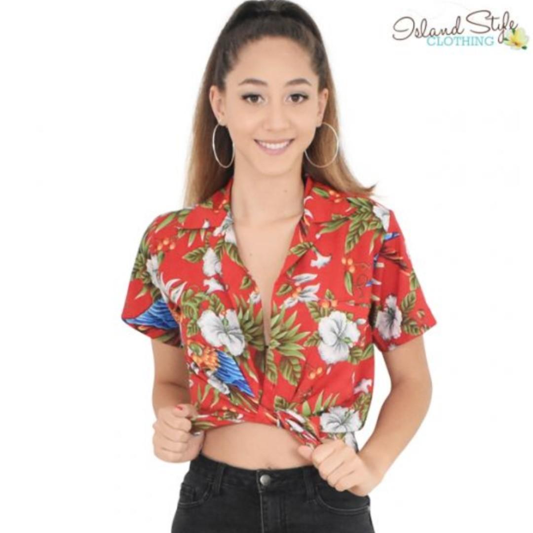 Red Hawaiian Shirt