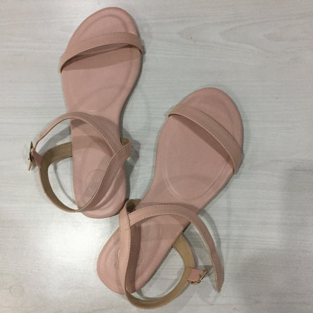 REPRICED: Nude Pink Strap Sandals