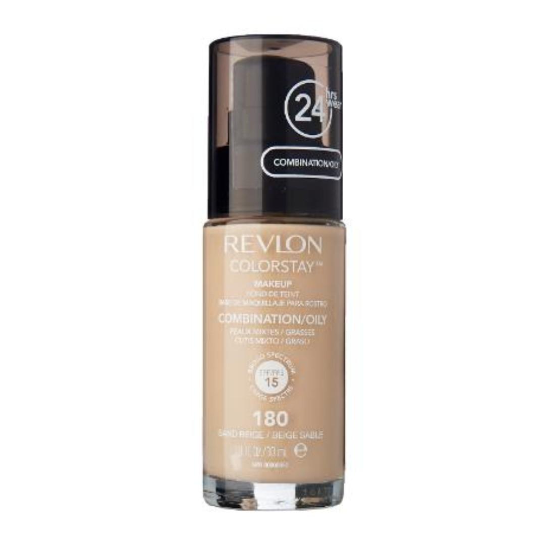 Revlon Colorstay Foundation for Combination/Oily skin - 180 Sand Beige