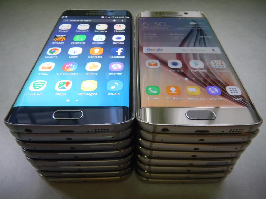 Samsung S6 Edge_32Gb_Nvr Repair b4_Screen Burn-In