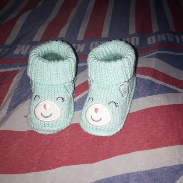 Sepatu baby perempuan 0-6 bln
