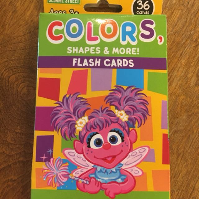 Sesame Street Flash Cards (Colors)