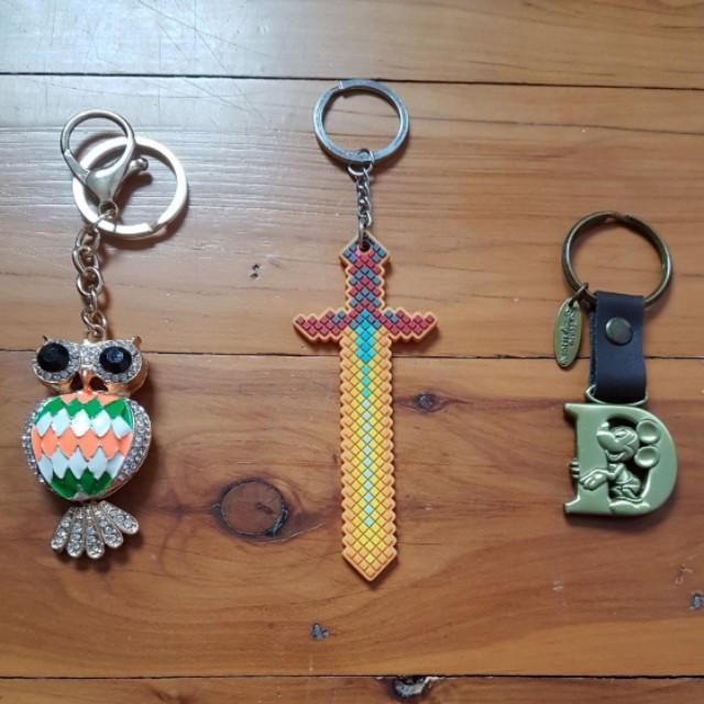 Some Random ass keychains