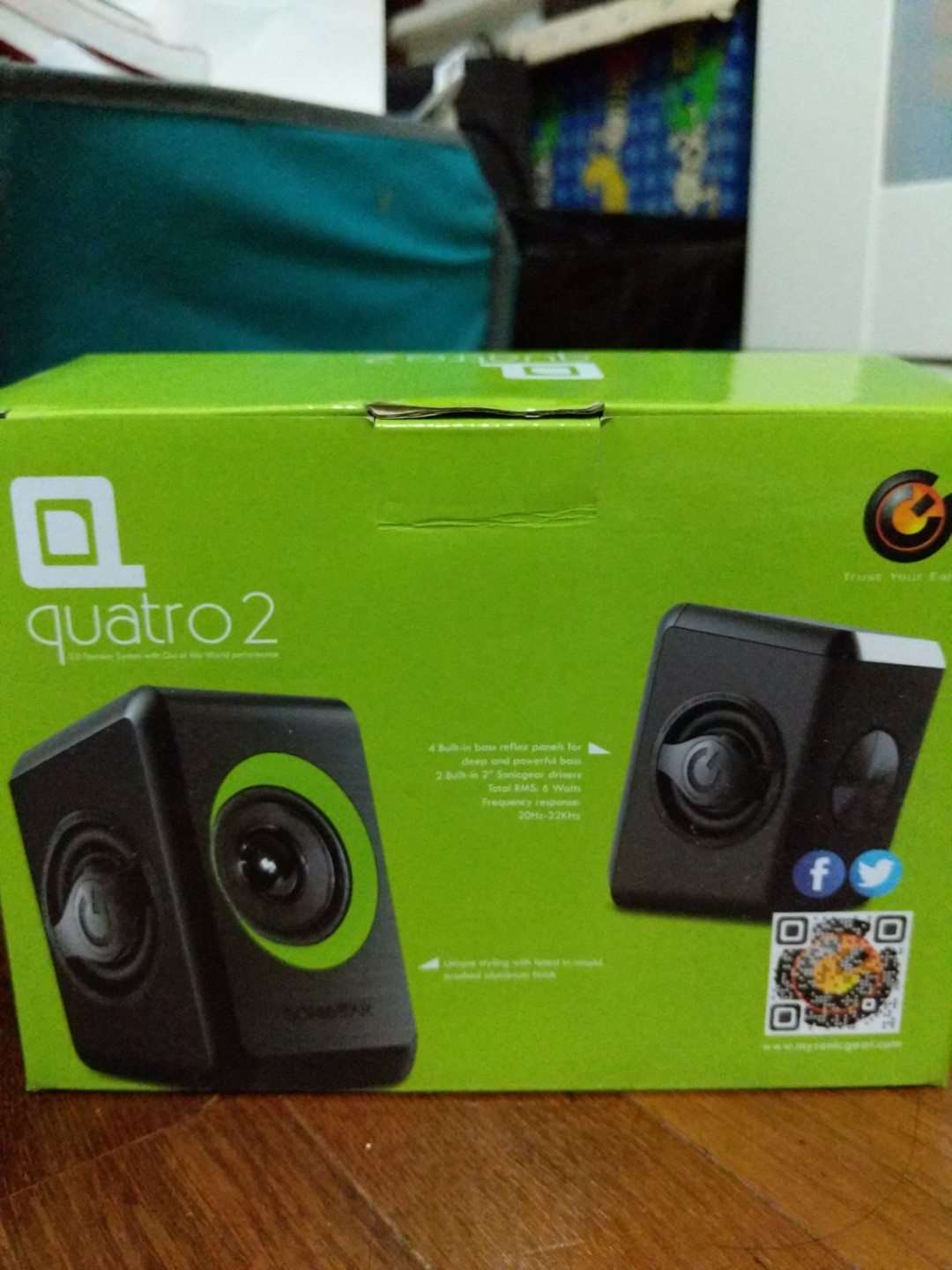 Sonicgear Quatro 2 Speaker Electronics Audio On Carousell Sonic Gear Xenon V Green Unboxing Indonesia Youtube