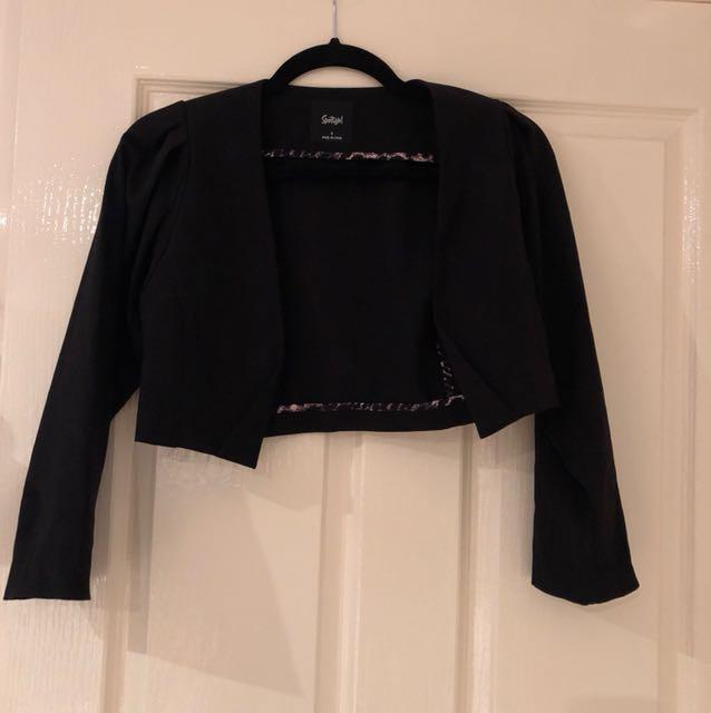 Sports girl crop jacket