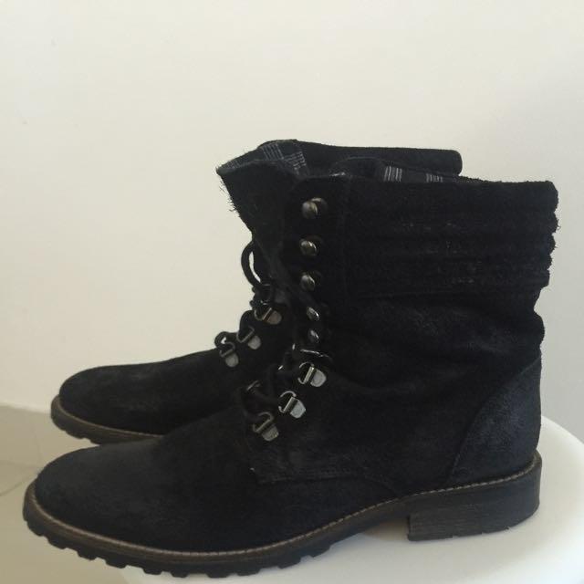 Sportsgirl Combat Boots