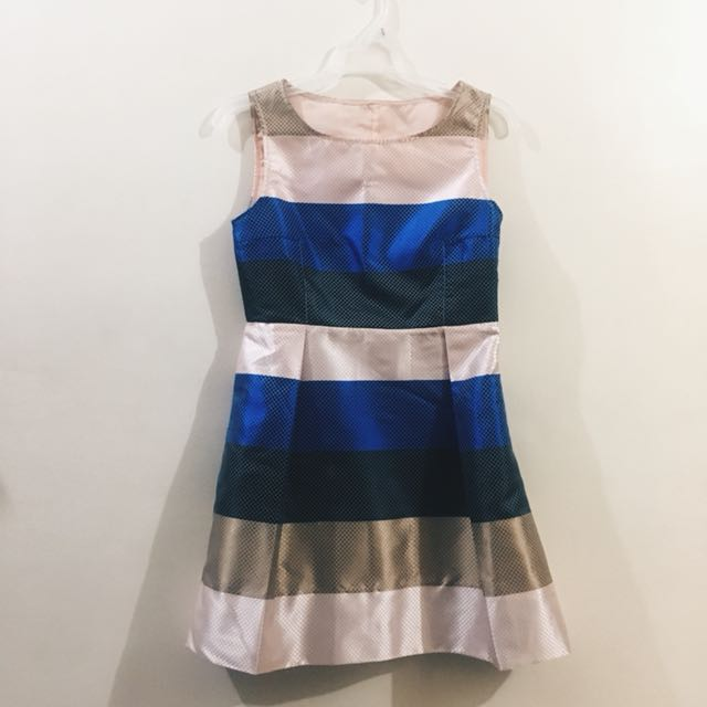 Striped Formal Dress
