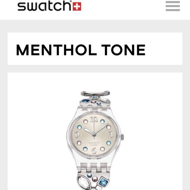 Swatch MENTHOL TONE (LK292G)女錶
