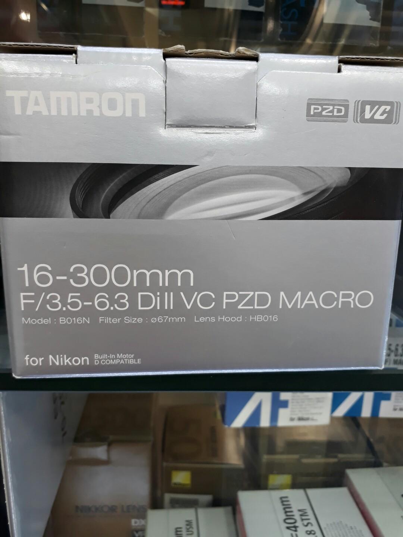 Tamron 16 300mm F 35 63 Di Ii Vc Pzd Macro Photography On Carousell 18 200mm For Canon Nikon Photo