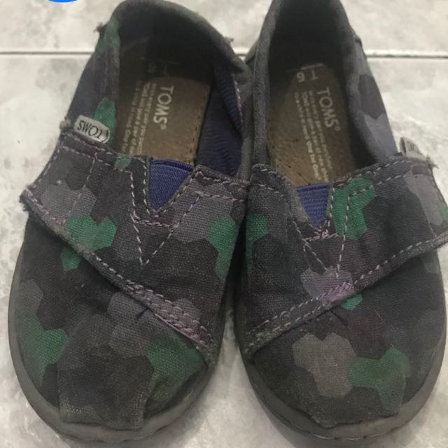 Tiny Toms Classic Camouflage Print, Size T6