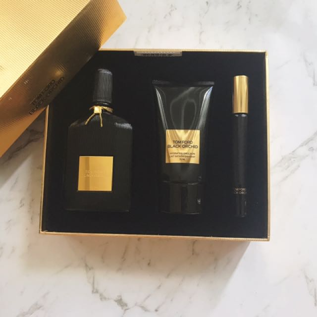 Tom Ford Black Orchid Perfume Set Health Beauty Makeup On Carousell