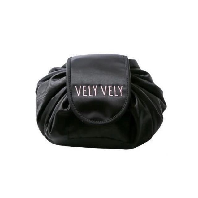 🆕VELY VELY抽繩懶人收納化妝包💄大容量