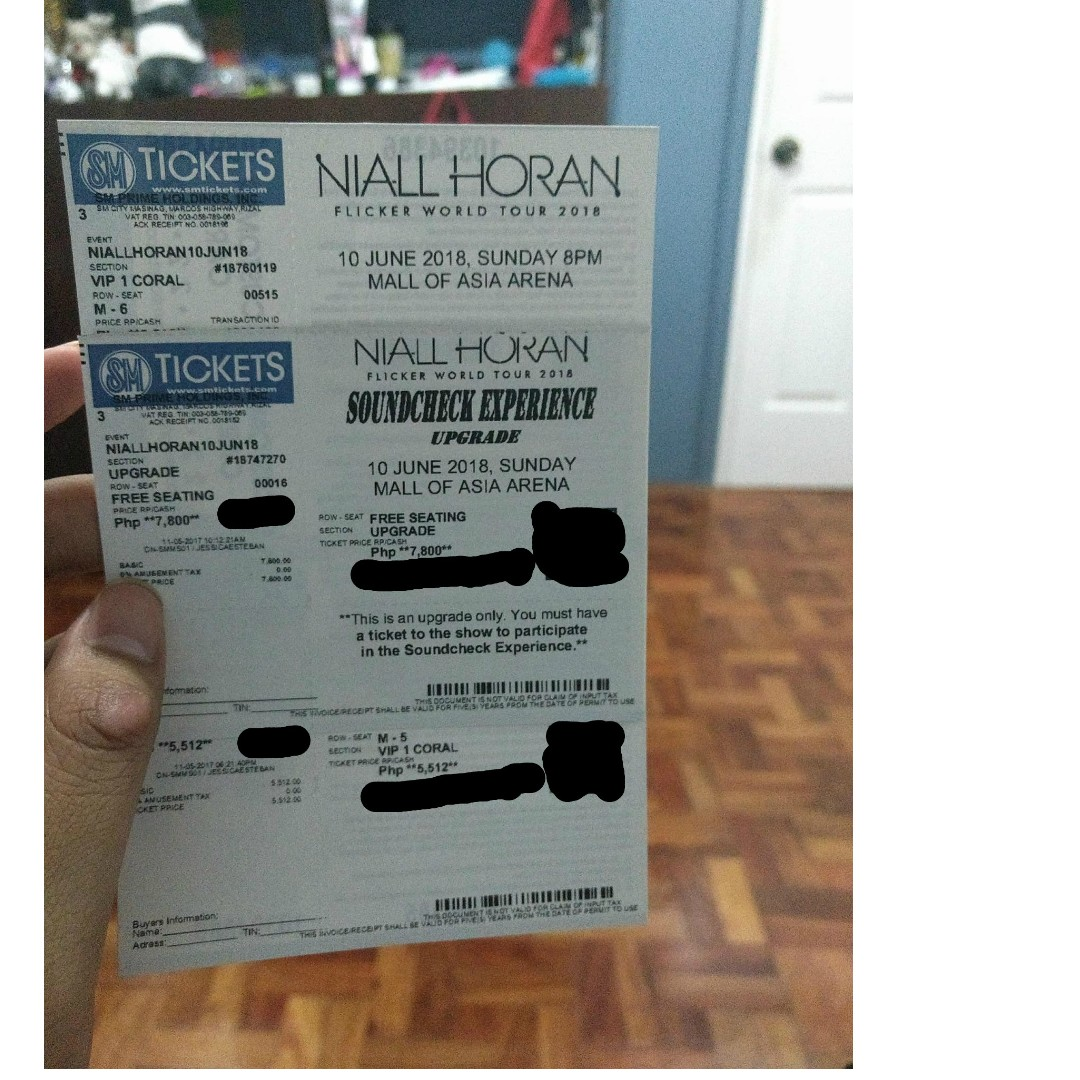 Vip tickets niall horan in manila flickertourmnl ticketsvouchers vip tickets niall horan in manila flickertourmnl ticketsvouchers event tickets on carousell m4hsunfo