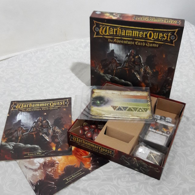 Warhammer Quest the adventure board game
