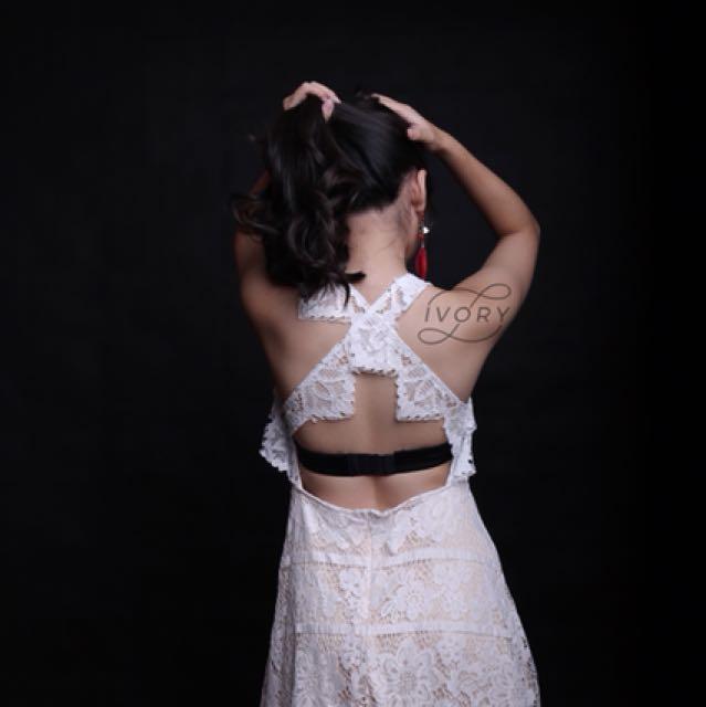 X lace dress