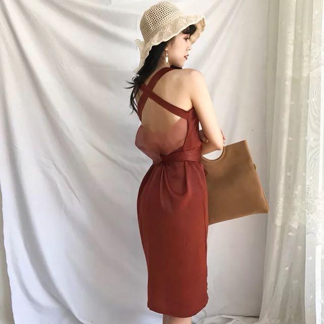 X seethru dress