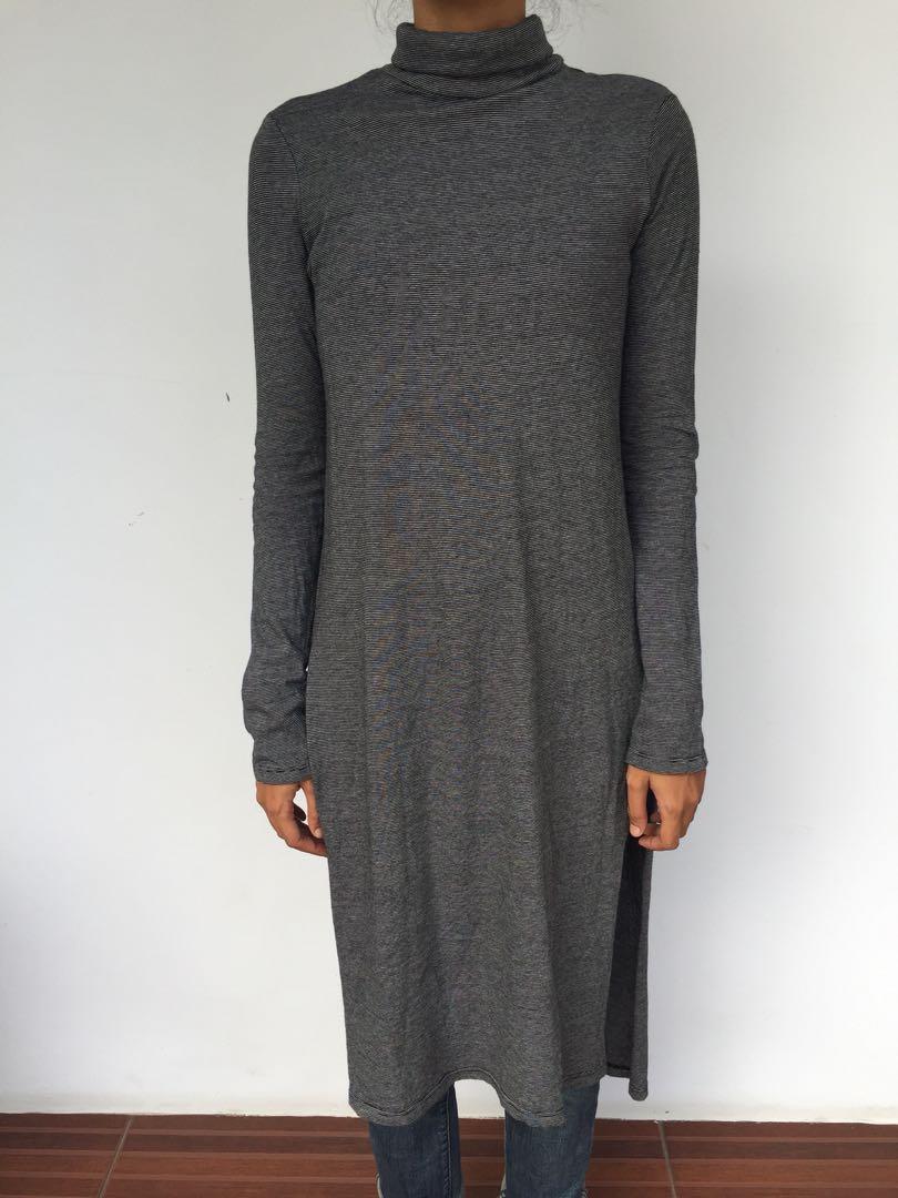 ZARA - Turtleneck Long Dress