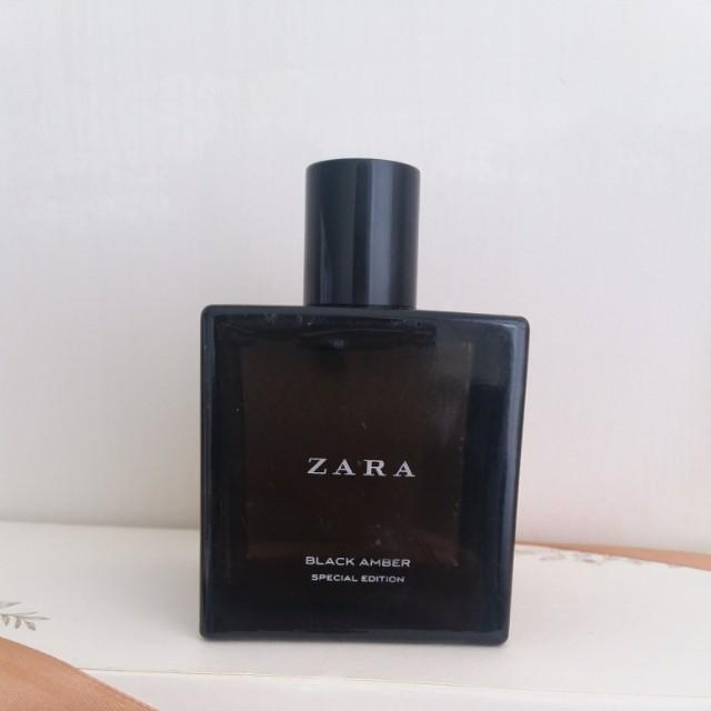 ZARA BLACK AMBER SPECIAL EDITION