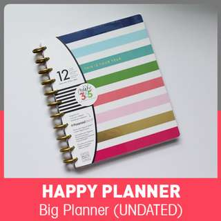 BIG Happy Planner - Modern Brights (UNDATED)