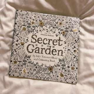 Secret Garden Colouring Book 🌟🧡