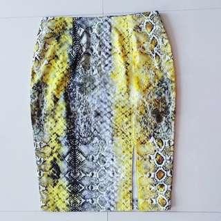 Phyton skirt handmade