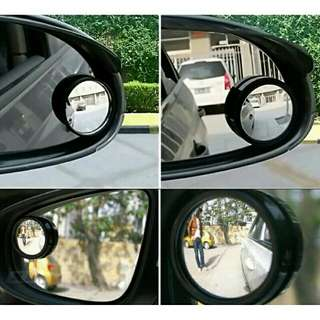 Adjustable Blindspot Round Mirror