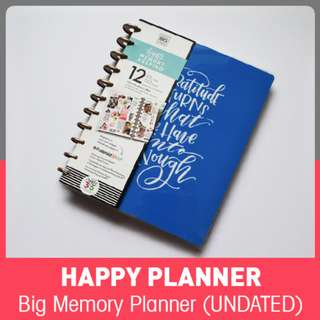 Happy Memory Keeping Planners - 12month UNDATED