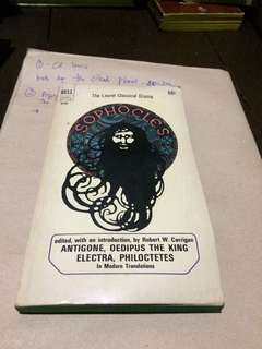 Antigone,oedipus the king,electra,philocteles