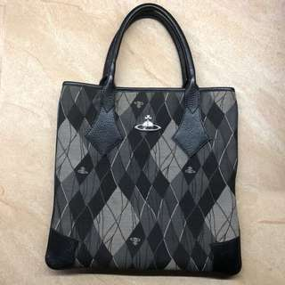 💯% GUARANTEED AUTHENTIC VIVIENNE WESTWOOD FLAT TOTE BAG