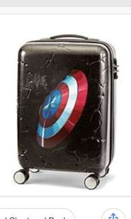 Samsonite Marvel themed luggage 20""