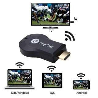 (大量全新) Samsung A8 A9 C8 C9 note 8 手機接電視 HDMI 高清無線手指 iPhone 7 Plus 接電視 適合 Samsung S8 Plus 合用 iPad 接電視畫面 iphone x