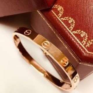 Cartier classic bracelet