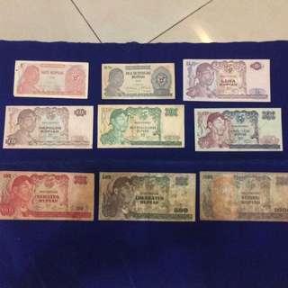 Uang lama seri Sudirman