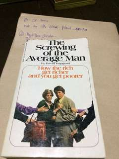 The screwing of the average man
