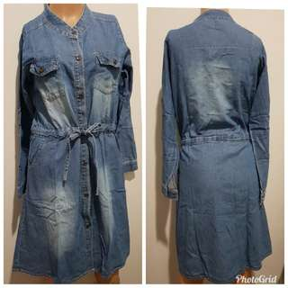 Dress casual, dress denim, dress santai
