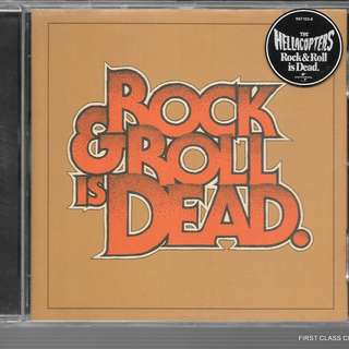 MY PRELOVED CD - THE HELLACOPTERS - ROCK AND ROLLIS DEAD - /FREE DELIVERY (F7P)
