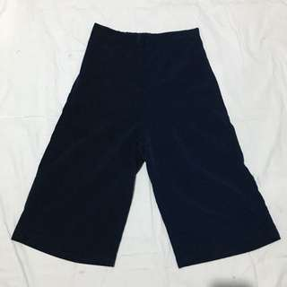 Navy blue culottes