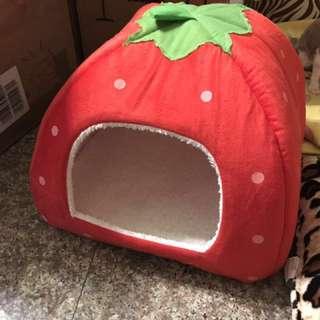 草莓寵物狗屋