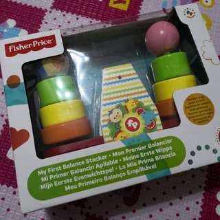 Fisher price my first balance stacker 砰 玩具 平衡  顏色