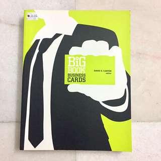 Big book business cards