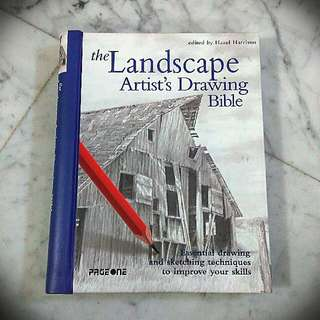 * Sale * The landscape artist's drawing bible book