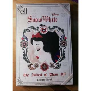 E.L.F SNOW WHITE BEAUTY BOOK LIMITED EDITION