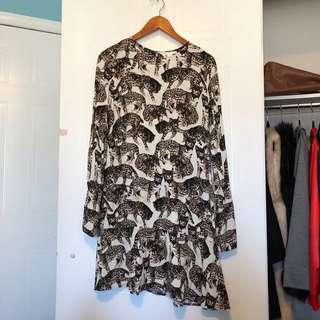 H&M Cat Dress Size 12