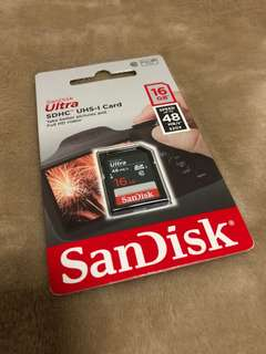 SanDisk SD Card 16GB