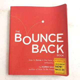 The bounce back book by Karen