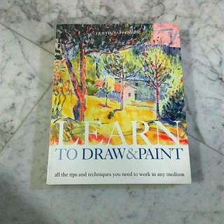 * Sale * Learn to draw and paint by Curtis Tappenden