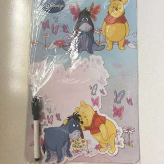 Winnie the Pooh magnet board