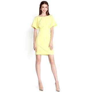 Sleeve dress - Hopeless Romantic Dress In Sunshine Yellow (LILYPIRATES)
