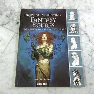* Sale * Drawing and painting Fantasy Figures Book